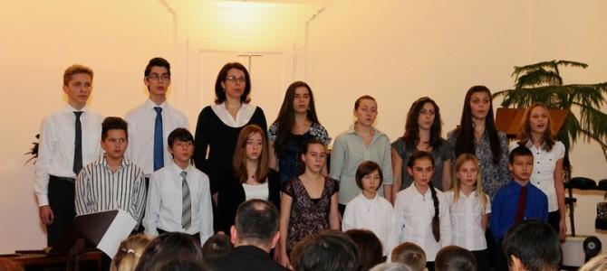 A zeneiskola karácsonyi hangversenye