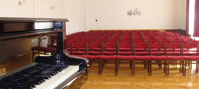 Jótékonysági koncert a Zeneiskolában