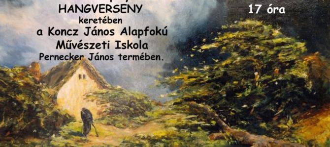 Pászthory Lajos festőművész képeinek adományozása és koncert