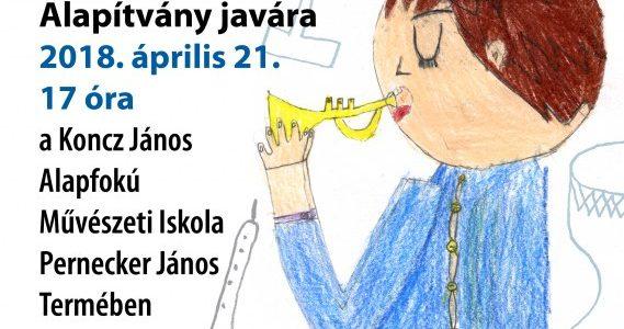 Koncert a Sárvári Művészetoktatásért Alapítvány javára